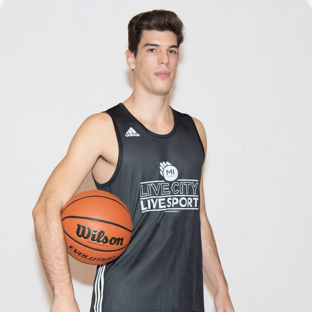 14 - Riccardo Campeggi - Mi Games Basketball