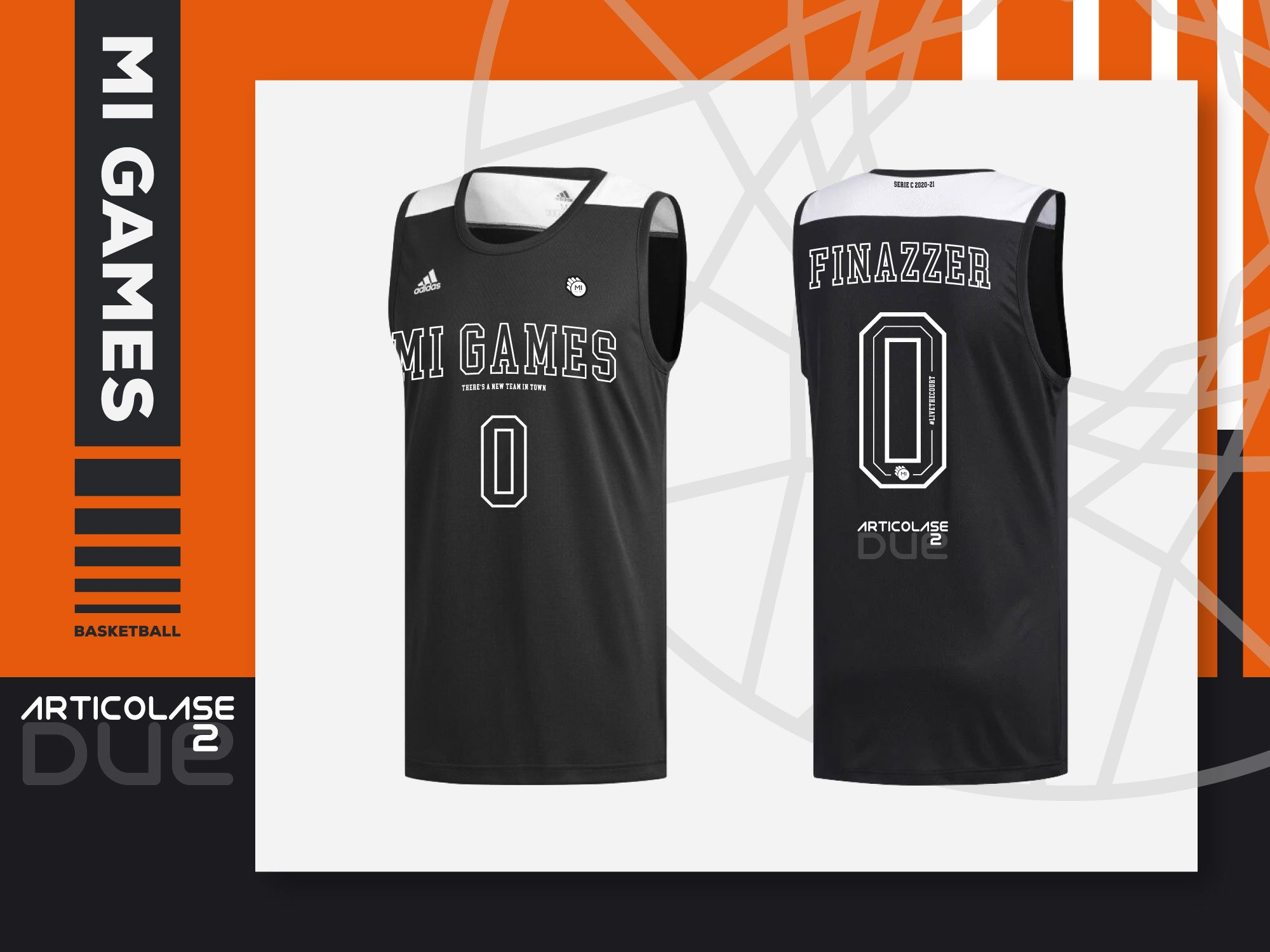 articolase - partner Mi Games Basketball - Divisa Home