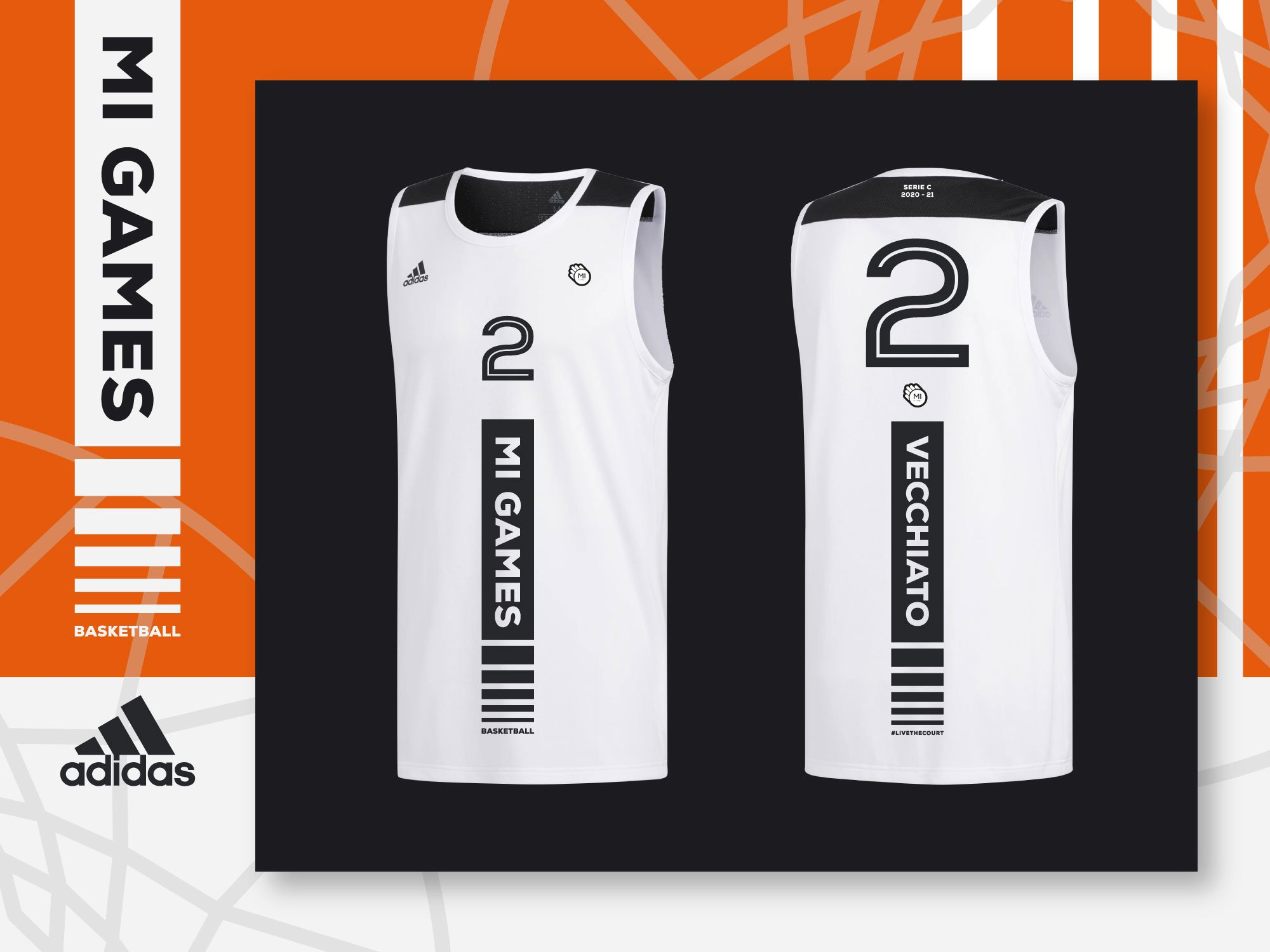 adidas - partner Mi Games Basketball - Divisa Away